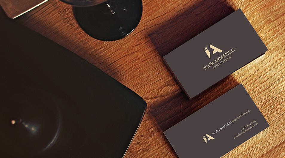 Identidade Visual – Igor Armando Arquitetura